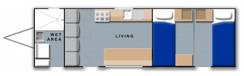 2-bedroom-plus-kitchen-caravan-floor-plan