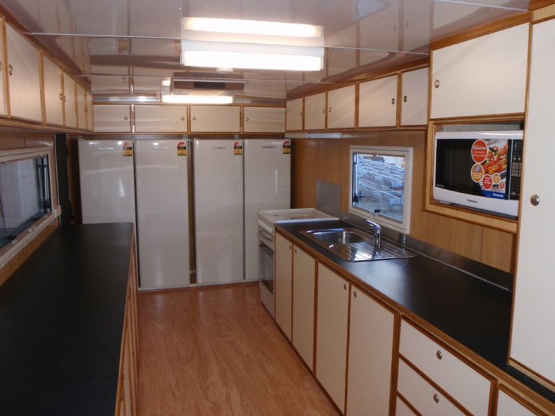Remote hire wa kitchen caravan remote hire wa - Commercial van interiors locations ...